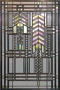 Frank Lloyd Wright S Dana Thomas House Stained Glass Art